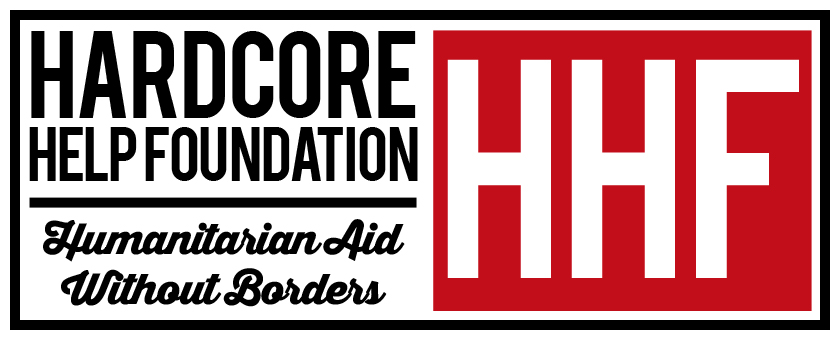 Hardcore Help Foundation Do Something Männer Kapuzenjacke schwarz