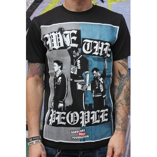 We the People T-Shirt, black