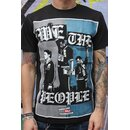 We the People T-Shirt, black -SALE-