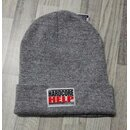 Beanie Heather Grau