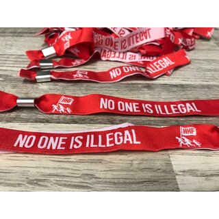 Armband - NO ONE IS ILLEGAL