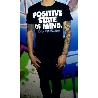 Positive State Of Mind. T-Shirt, Black XXL