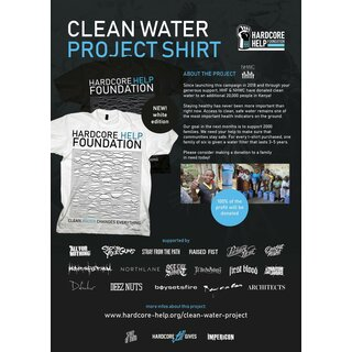 Clean Water - Collaborations Shirt, black