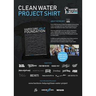 Clean Water - Collaborations Shirt, black-XXL