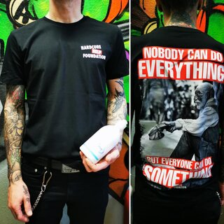 Nobody Can Do Everything - Tshirt/Black